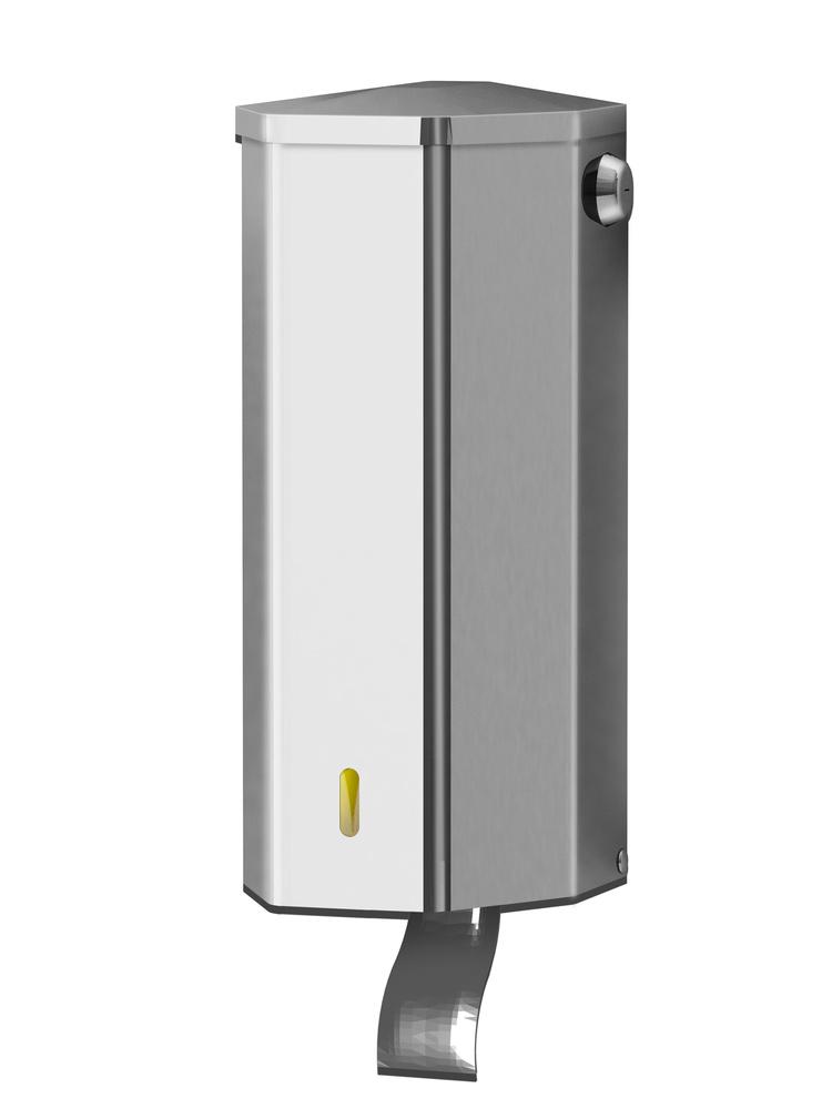 Liquid soap dispenser. in stainless steel. Art. 20 - 1