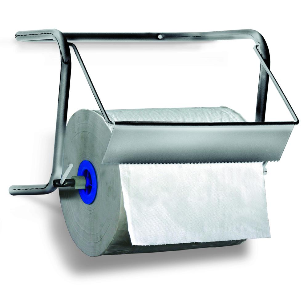 Art. 14 inox. Supporto carta industriale in acciaio Inossidabile 18/10  - 2