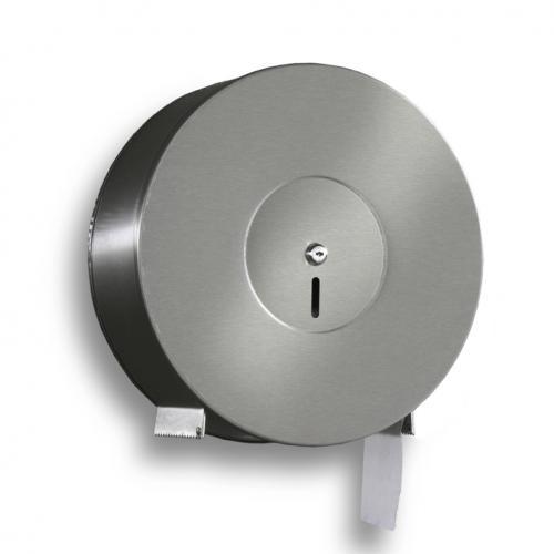 Distributore di Carta igienica Jumbo per Rotolo, Acciaio Inox . Art 39 - 1