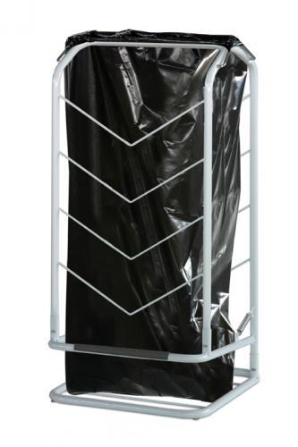 Carrello porta sacco per rifiuti, a pedale. Art. 90 - 1