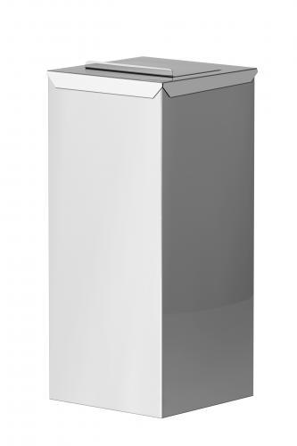 Cestino raccoglitore con reggi sacco interno per sacchetti igienici Art.168 - 2