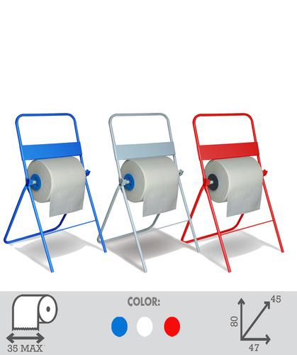 Art. 10. Industrial Roll / Hand towel  Dispenser Floor Standing.