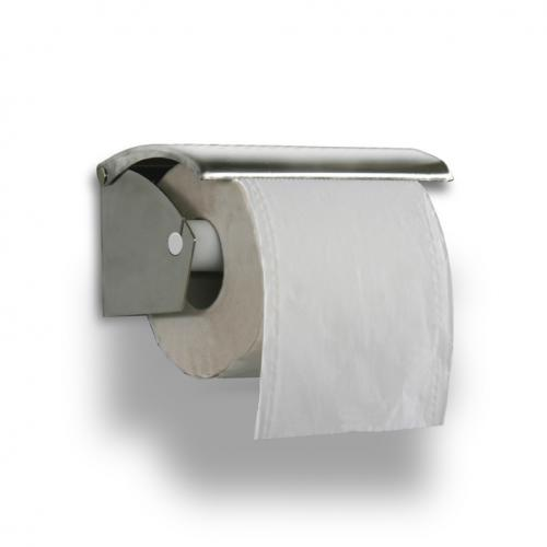 Toilet paper holder, in stainless steel Art. 150