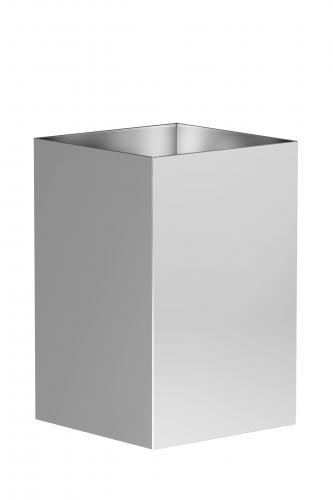 Stainless steel paper basket Basic Art. 175