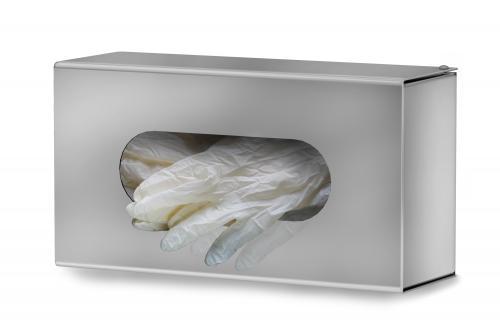 Stainless steel gloves dispenser. Art. 52