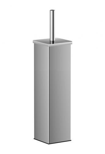 Square  stainless steel toilet brush holder. Art 46